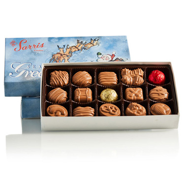 Sleigh Box Milk Assortment 8 oz.